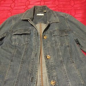 Jean jacket by Coldwater Creek size  16